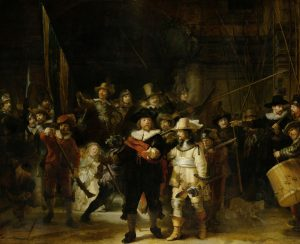 1642-the-company-of-captain-frans-banning-cocq-and-lieutenant-willem-van-ruytenburch-nightwatch-rembrandt-tour-amsterdam