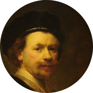 rembrandt-self-portrait-rond-6