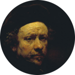 rembrandt-self-portrait-rond-8