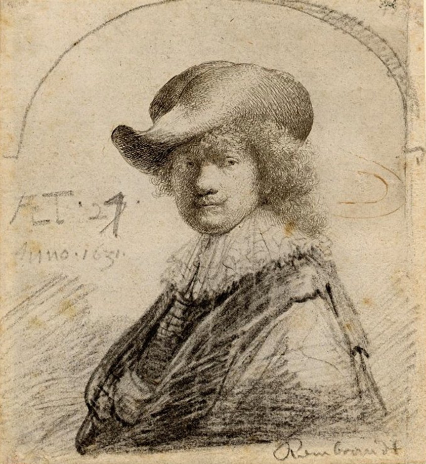 autograph-notation-on-rembrandts-etched-and-retouched-self-portrait-in-a-soft-hat