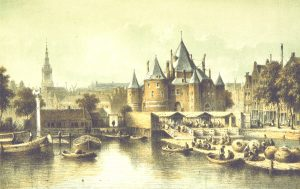The Waag in 1860